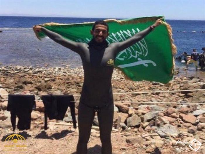 بسام بخیت قهرمان شنای عربستان