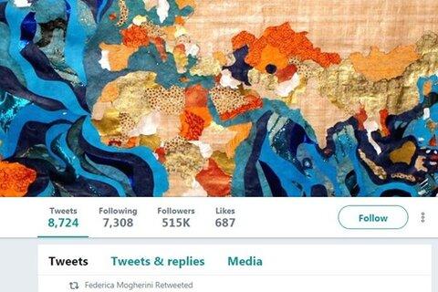 تجزیه ایران در توئیت جنجالی فدریکا موگرینی