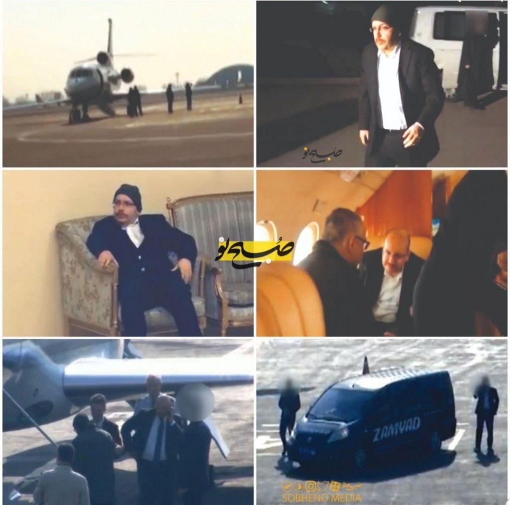 تصاویر واقعی از مبادله جیسون رضاییان جاسوس آمریکایی