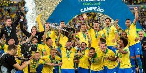 برزیل قهرمان کوپا آمریکا شد + تصاویر