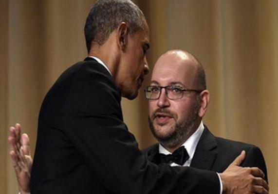 جیسون رضاییان و باراک اوباما