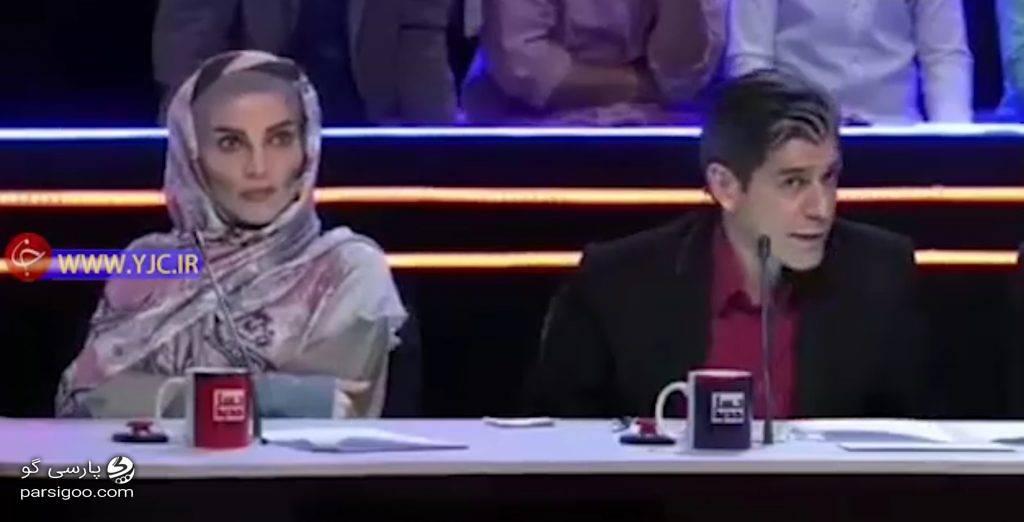 رویا نونهالی و آریا عظیمی نژاد در مجموعه تلویزیونی طنز ناخونک