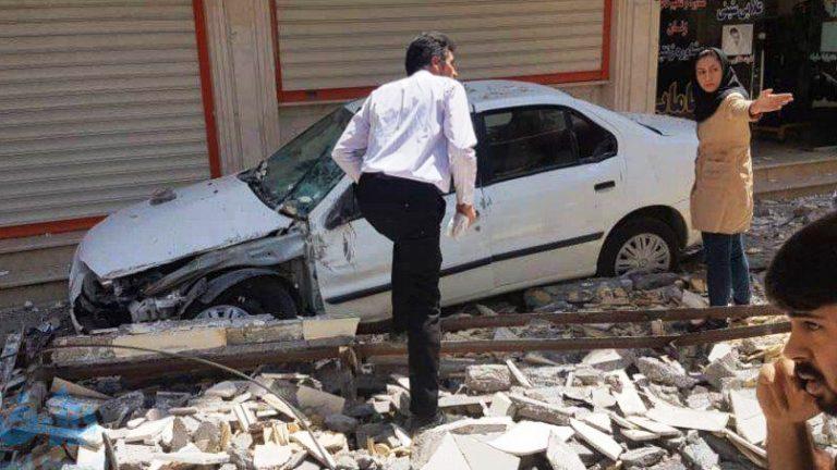 زلزله شدید در شهرستان مسجد سلیمان خوزستان