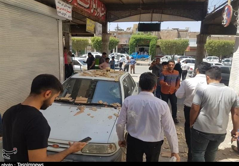 زلزله 5.7 ریشتری در خوزستان عکس