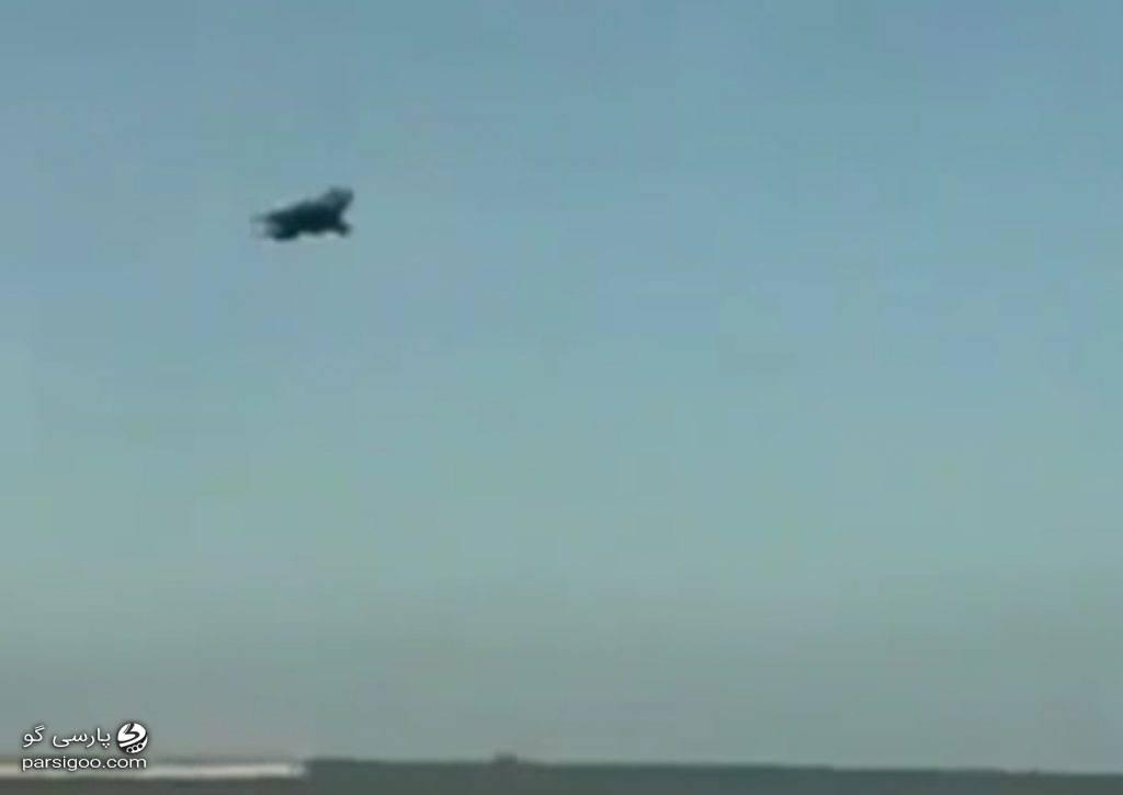 سقوط جنگنده عمود پرواز ساخت انگلیس 1