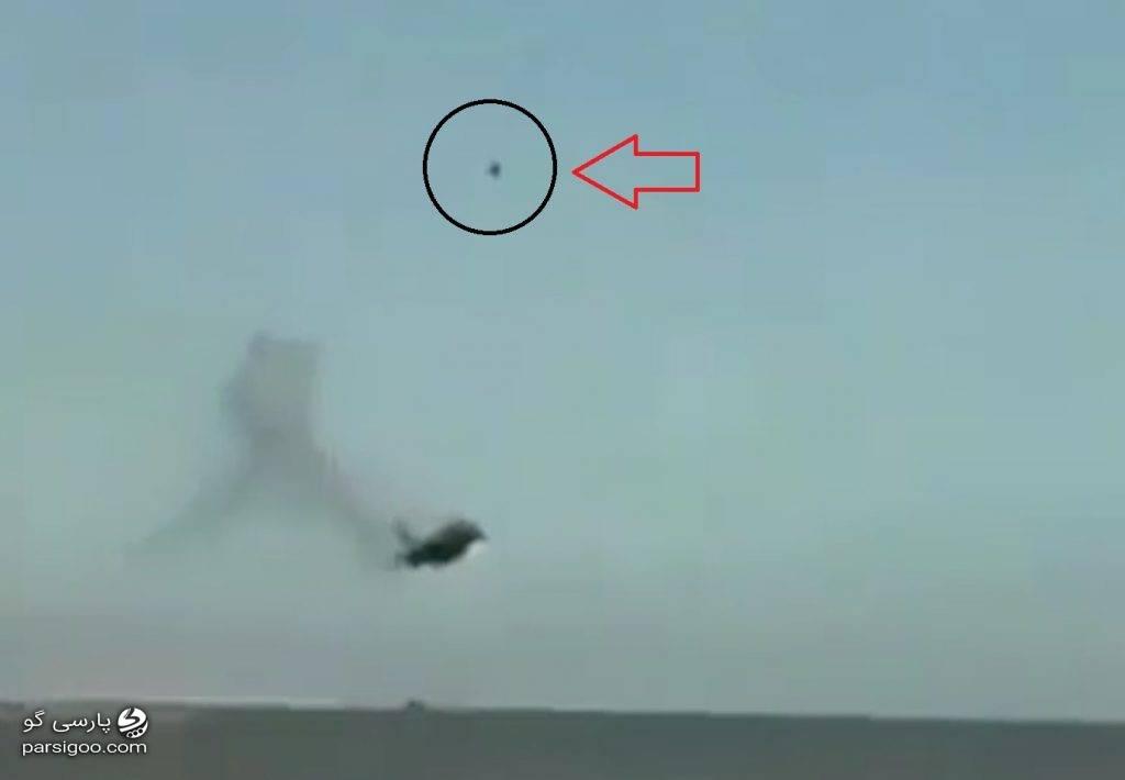 سقوط جنگنده عمود پرواز ساخت انگلیس 2