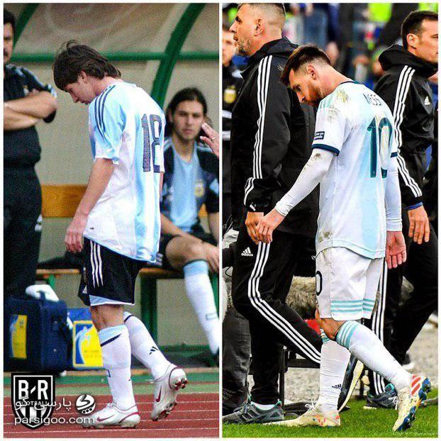 شروع و پایان تلخ کار مسی در تیم ملی آرژانتین با کارت قرمز
