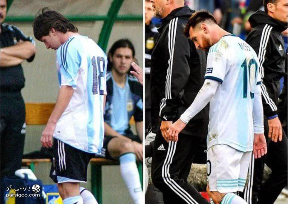 شروع و پایان کار لیونل مسی در تیم ملی با کارت قرمز؟