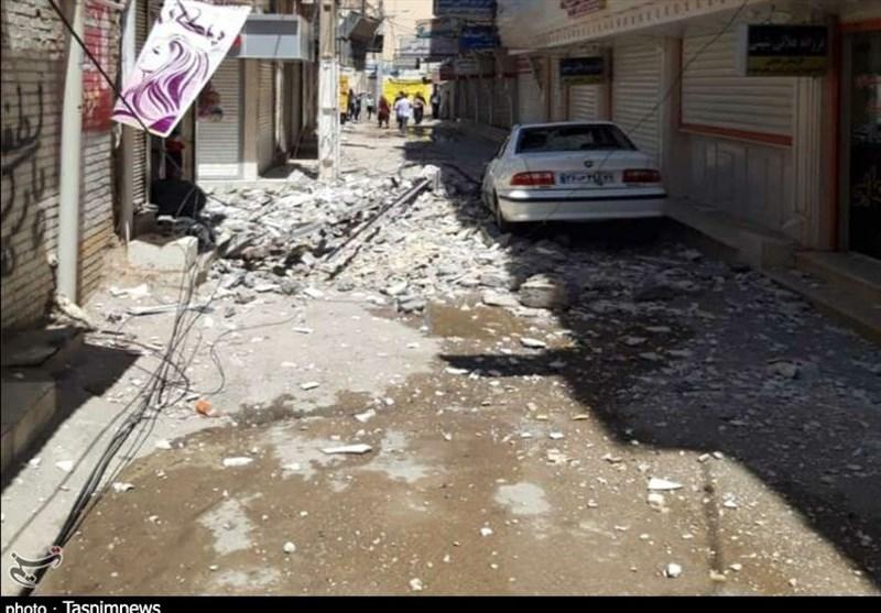 عکس زلزله 5 ریشتری خوزستان
