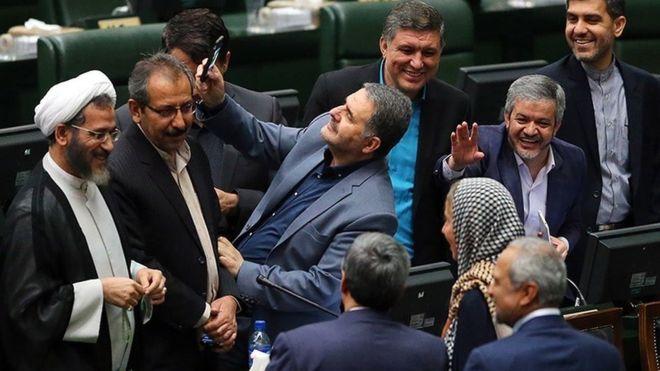 موگرینی در مجلس شورای اسلامی