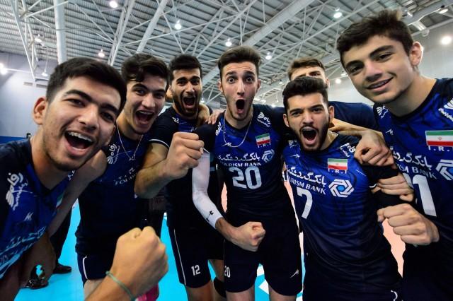 والیبال جوانان بر بام جهان ایران قهرمان جهان
