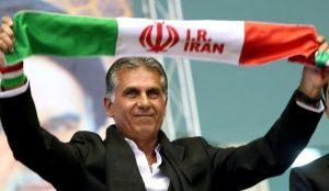 کی روش و پرچم ایران