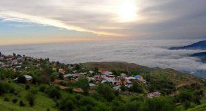 روستای فیلبند مازندران روستایی بر فراز ابرها