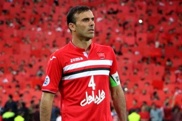 سید جلال حسینی بهترین مدافع فصل فوتبال ایران