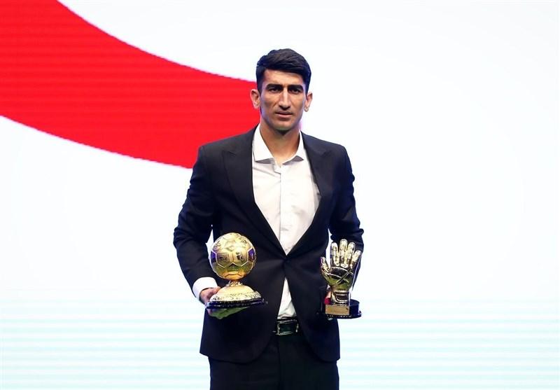 علیرضا بیرانوند مرد سال فوتبال ایران