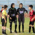 قضاوت داوران زن برای فوتبال پسران در بوشهر 1