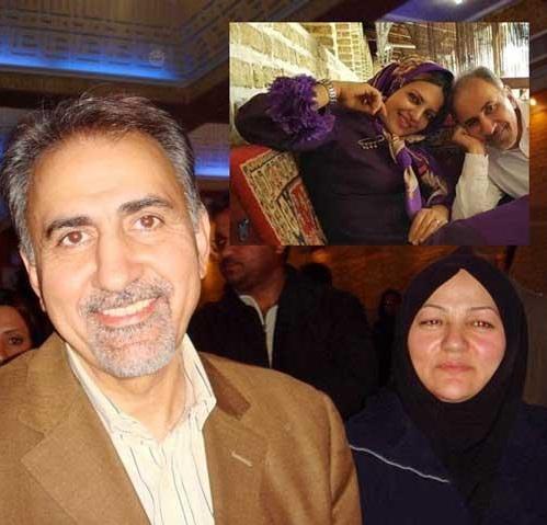 محمد علی نجفی و همسر اولش. محمد علی نجفی و میترا استاد