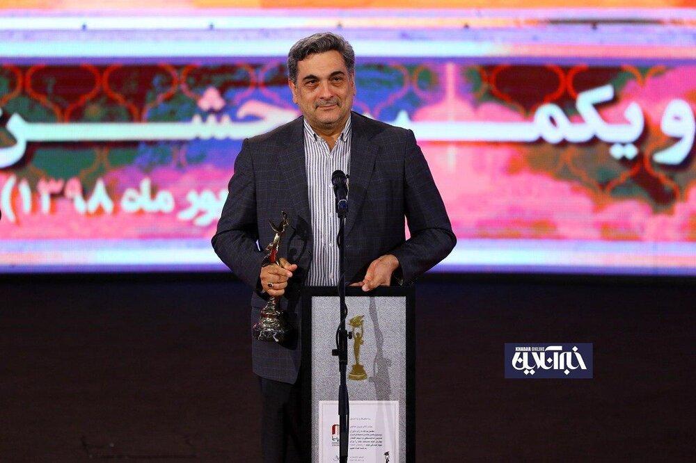 پیروز حناچی شهردار تهران در مراسم بیست و یکمین جشن سینمای ایران