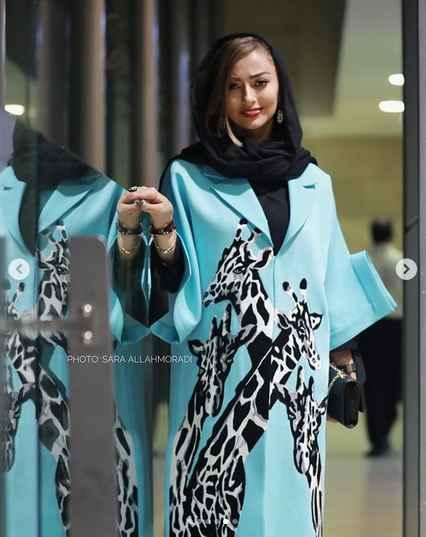 کپي کاري طراح لباس نفيسه روشن 3
