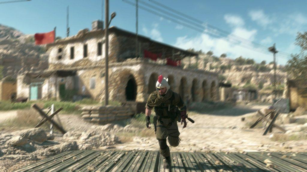 گرافیک فوق العاده بازی Metal Gear Solid V