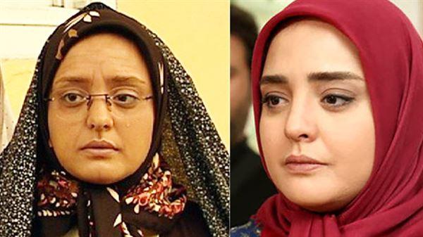 جوانی نرگس محمدی در سریال ستایش