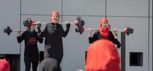 حرکات جنجالی در همایش ملی ایروپامپ در کرج + فیلم و تصاویر