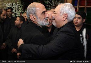 حسین شریعتمداری و محمد جواد ظریف