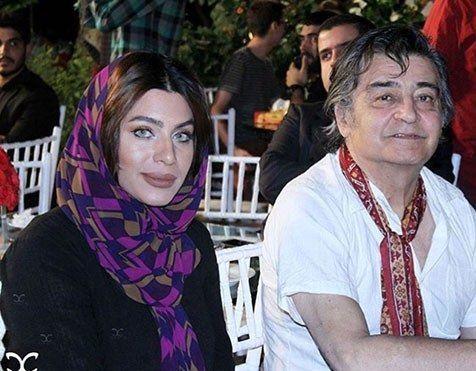 رضا رویگری و همسر دومش تارا کریمی 2