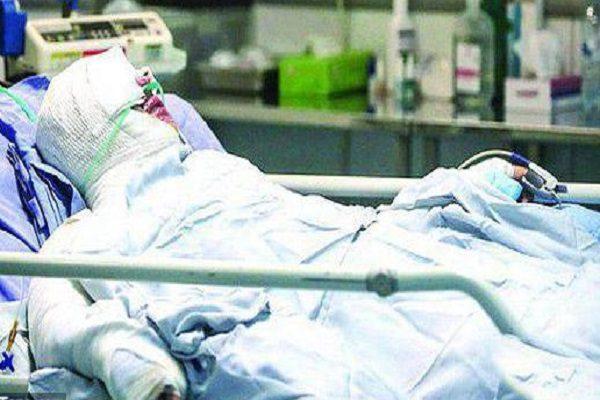 سحر خدایاری دختر آبی روی تخت بیمارستان سحر خدایاری روی تخت بیمارستان