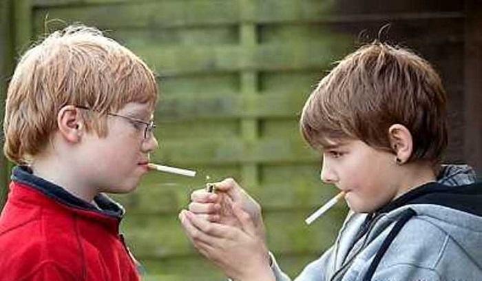 سیگار کشیدن کودکان پیشگیری از سیگاری شدن کودکان