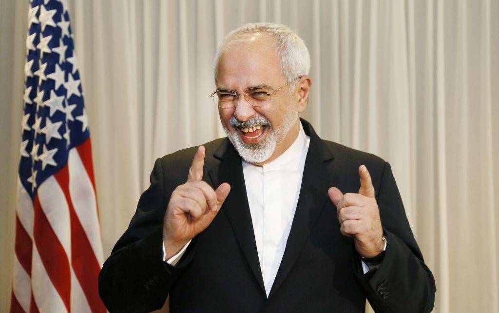 ظریف خنده ظریف محمد جواد ظریف