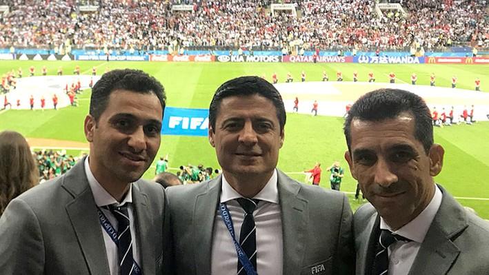 علیرضا فغانی داور بین المللی فوتبال ایران