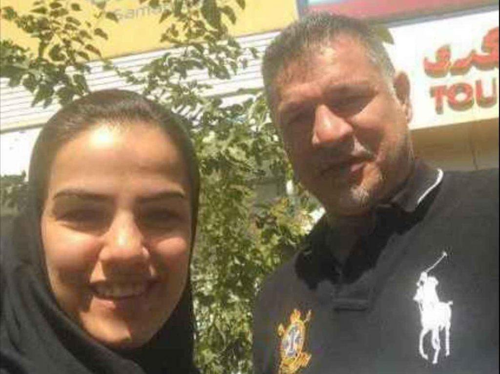 فرشته کریمی فوتسال و علی دایی فوتبال