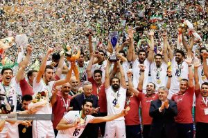 والیبال ایران قهرمانی تیم ملی والیبال ایران برای سومین بار در آسیا والیبال