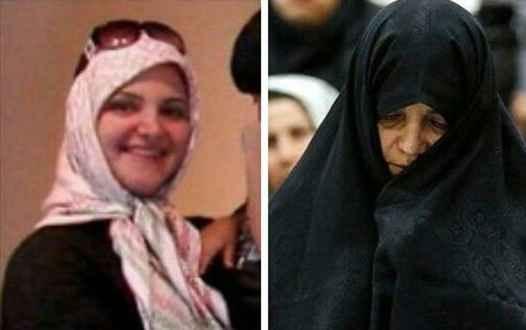 پوشش و حجاب شبنم نعمت زاده در دادگاه و قبل از آن