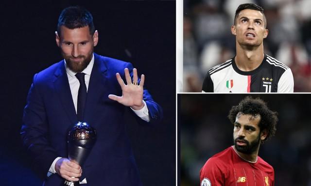THE BEST تقلب لیونل مسی رونالدو و محمد صلاح