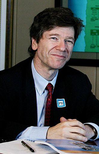 جفری ساکس اقتصاد دان و استاد دانشگاه اهل ایالات متحده آمریکا
