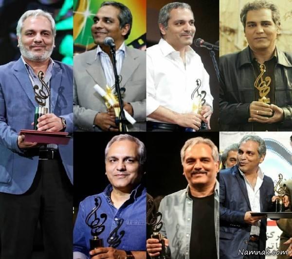 جوایز و افتخارات مهران مدیری