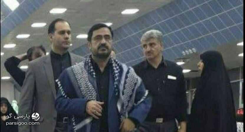 حضور سعید مرتضوی در پیاده روی اربعین عکس