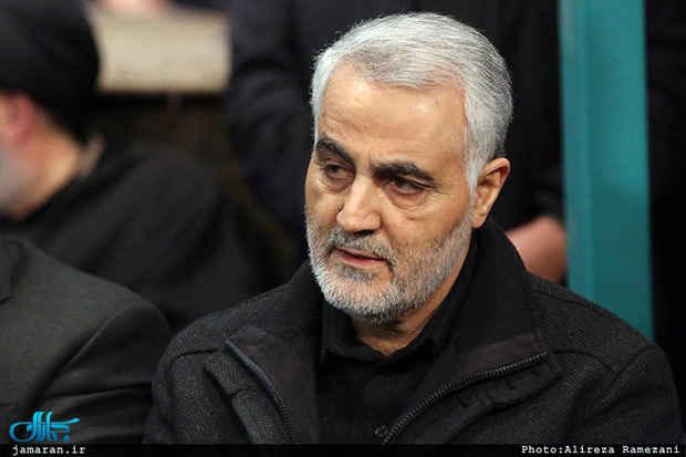 سردار سلیمانی. عزاداری ماه محرم در کرمان