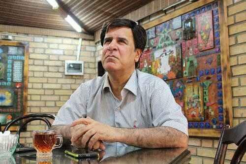 سرهنگ علیفر مصاحبه با گزارشگر جنجالی