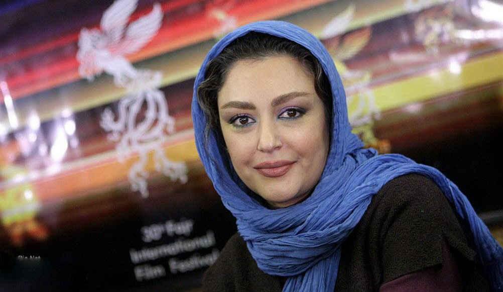 شقایق فراهانی در مراسم جشنواره فجر