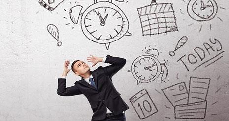 عدم توجه به زمان بی زمانی بی برنامگی مدیریت زمان