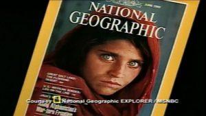 عکس دختر افغان که دنیا را تکان داد
