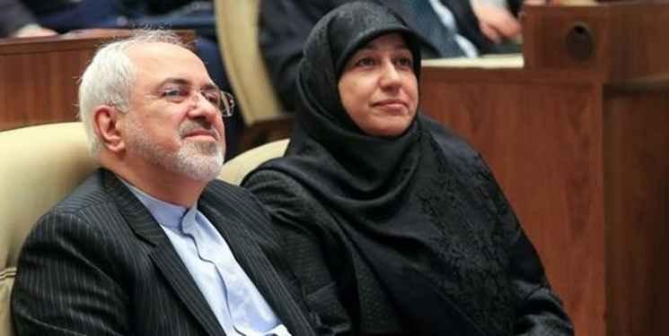 محمد جواد ظریف و همسرش مریم ایمانیه