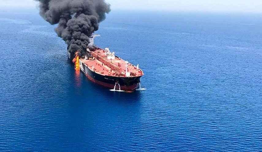نفتکش ایرانی. حمله به نفتکش ایرانی. اصابت موشک به نفتکش ایرانی. حمله تروریستی. عربستان. دریای عربستان