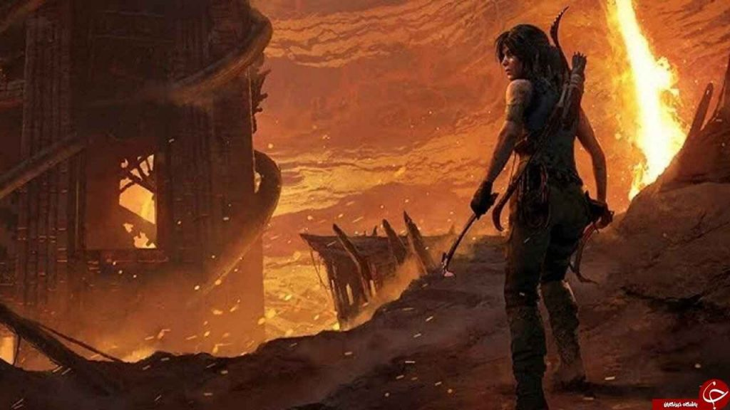 نمایی از بازی Shadow of the Tomb Raider