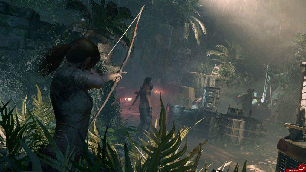 نمایی از بازی Tomb Raider