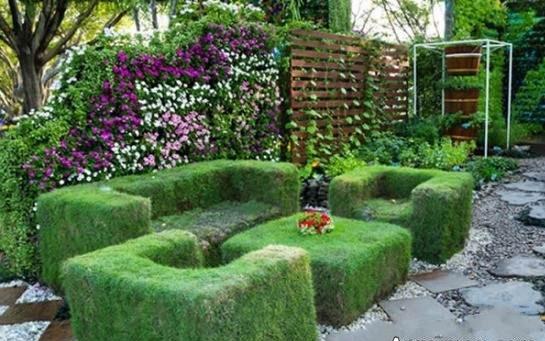 نمونه طراحی فضای سبز پشت بام طرح سبز