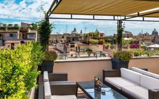نمونه طراحی فضای سبز پشت بام مدل جدید